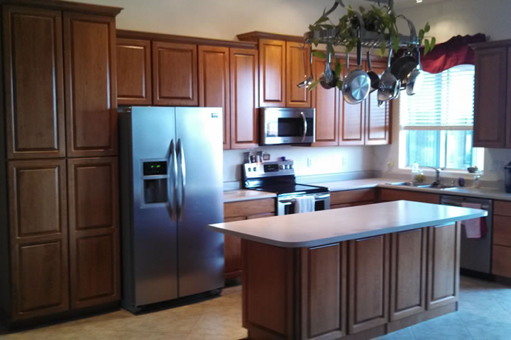 Arizona Kitchen Cabinets phoenix arizona kitchen cabinet transformations:grapevine cabinets