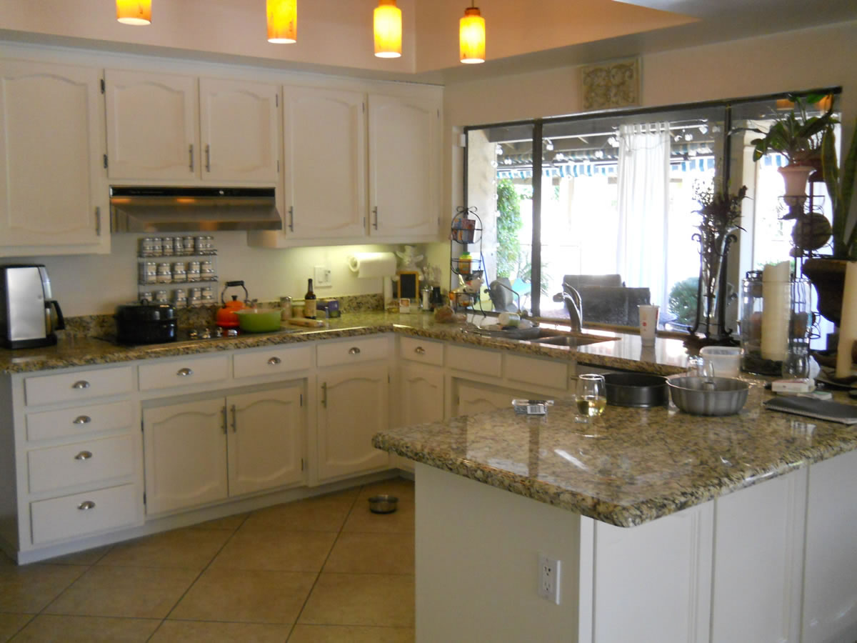 Scottsdale Cabinet Hinges And Door Pulls · Refinished White Kitchen Cabinets :Scottsdale