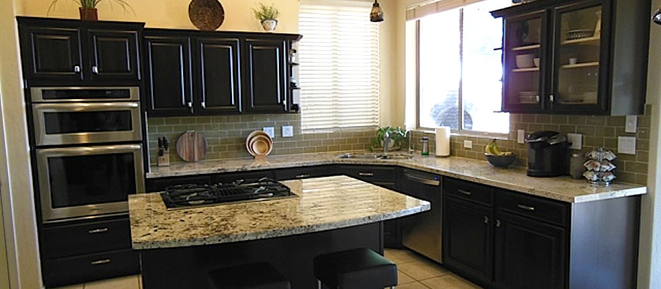 Kitchen Cabinet RefinishingRefacing Phoenix Arizona - Kitchen cabinet refinish